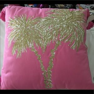 NWT Lily Pulitzer square pillow